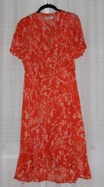 soaked in luxury short dress orange Summer Lanelle Wrap on Tradesy Image 5