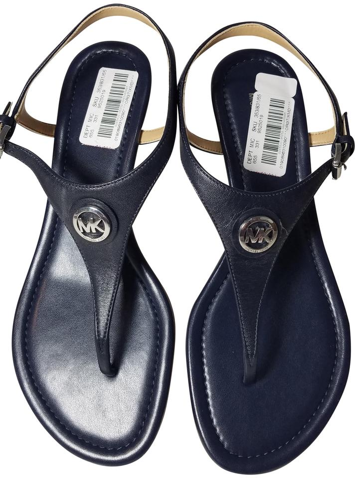 4eb56aaebcb Blue MICHAEL Michael Kors Sandals - Up to 90% off at Tradesy