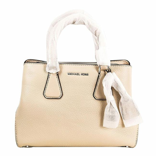 Michael Kors Women's Ballet Pebbled Camille Small Satchel Leather Shoulder Bag Michael Kors Women's Ballet Pebbled Camille Small Satchel Leather Shoulder Bag Image 1