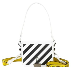 Off-White™ Diagonal Flap Binder Clip Off-white Binder Off-white Diag Cross Body Bag