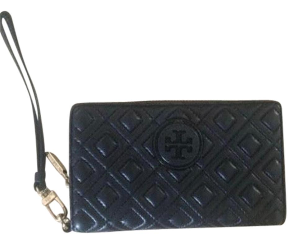 7f4ab5616e8c9 Tory Burch Marion Wallet Leather Wristlet - Tradesy
