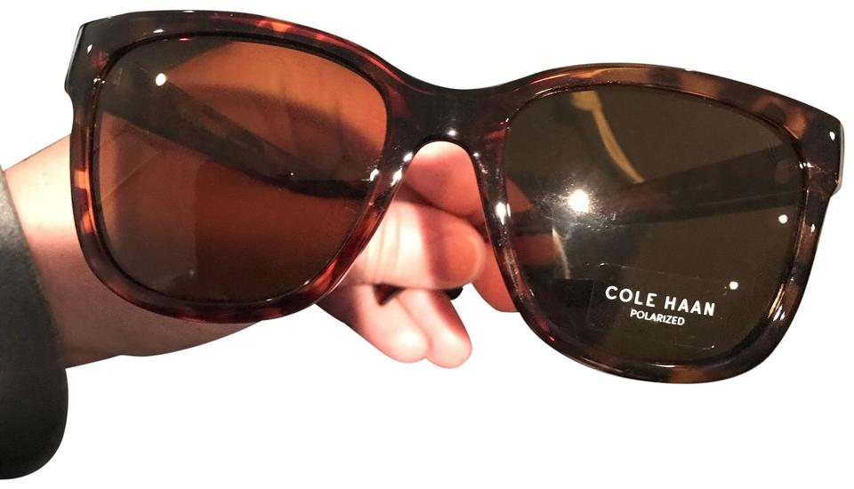9a2fa3a43153 Cole Haan New Cole Haan Unisex Polarized Silver Frame Black Aviator  Sunglasses - CH7037 Image 0 ...