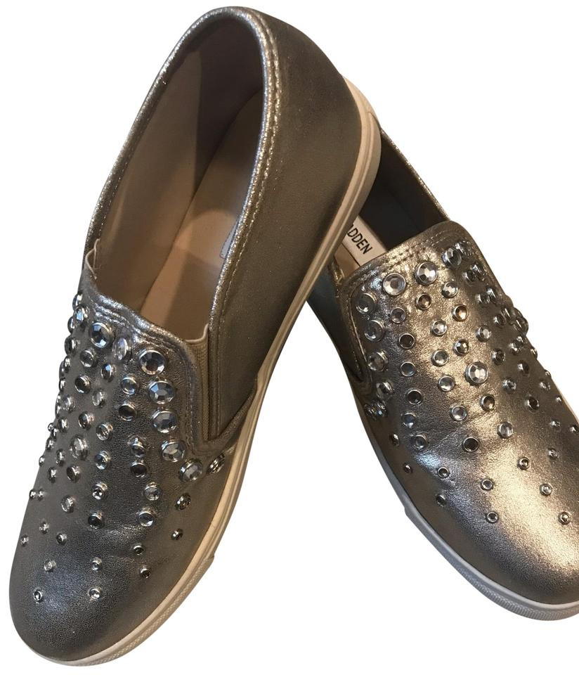 5c9a5132518 Steve Madden Gold/Rhinestone Active Wear Sneakers Size US 10 Regular (M, B)  7% off retail