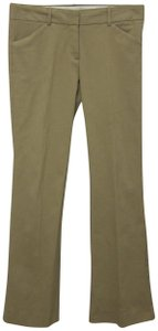 Theory Khaki/Chino Pants Cognac Brown