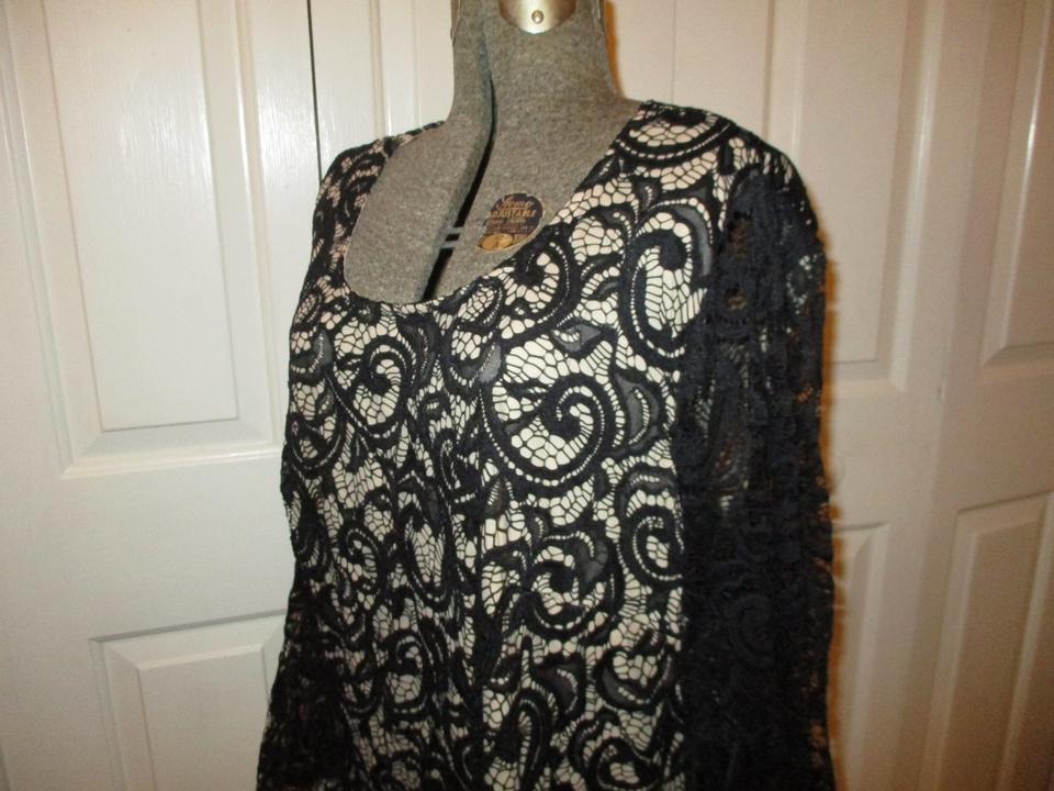 3695c52f957 Lane Bryant Stretchy Bell Sleeve Night Out 003 Dress Image 11.  123456789101112