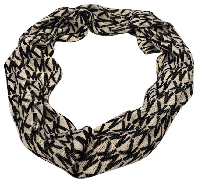 Item - Black and White Infinity Scarf/Wrap