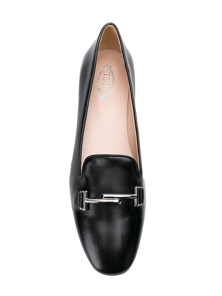e43ec3547a1 Tod s Black New Double T Loafers Flats Size EU 40 (Approx. US 10 ...