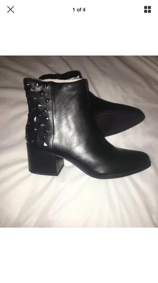 f2c5e9b60 Circus by Sam Edelman Black Studded Ankle Boots Booties Size US 8.5 ...