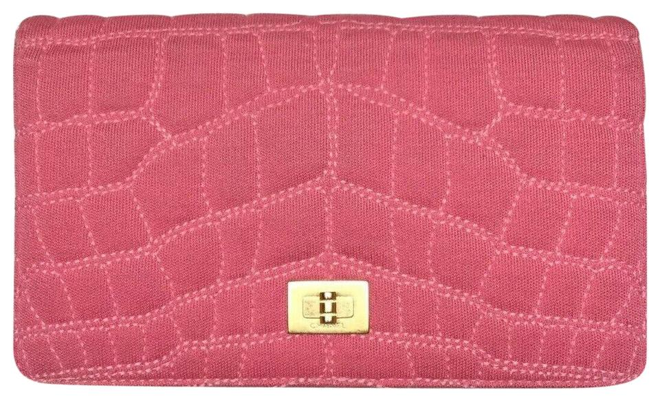 6051ebcf7f5d Chanel Pink Clutch Quilted Vintage Wallet - Tradesy