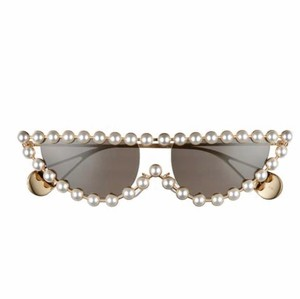 Gucci NEW Gucci GG0364S 0364S Pearl Cat Eye Sunglasses