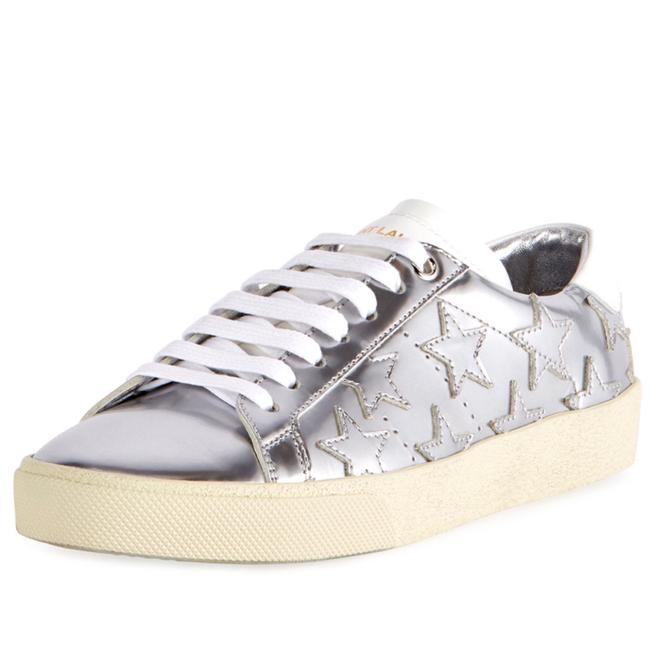 Item - Silver Court Classic Star Low-top Sneakers Size EU 39.5 (Approx. US 9.5) Regular (M, B)