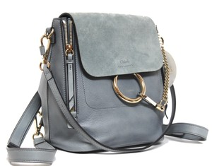 Chloé Washed Leather Backpack