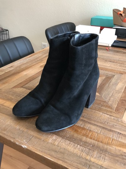 a2513ff591bc Sam Edelman Black Taye Suede Ankle Boots/Booties Size US 7.5 Regular ...