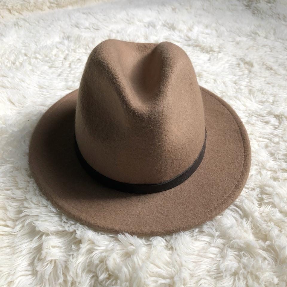 75a6a461 Ecote Beige Urban Outfitters | Felt Slouch Fedora Hat - Tradesy
