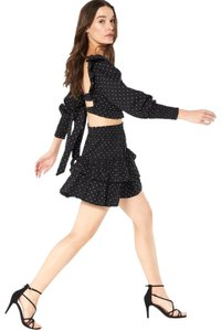 MISA Los Angeles Kayly top and Beva ruffled Skirt