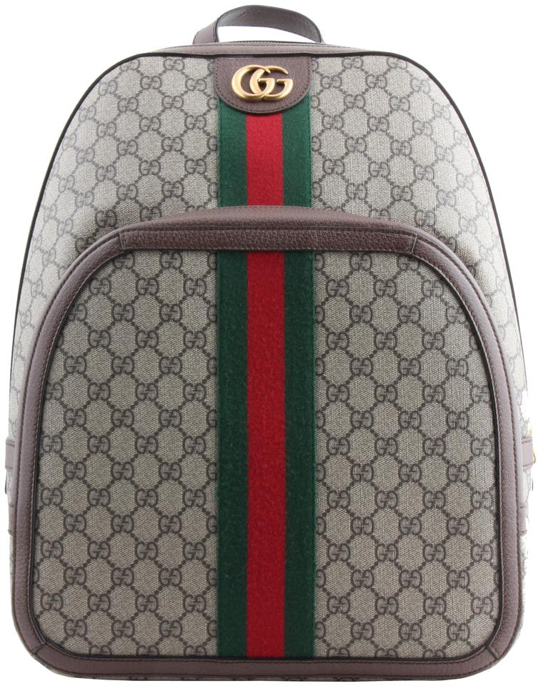 6e25ac06fb6 Gucci Ophidia Gg Medium Backpack Multicolor Canvas Weekend Travel ...