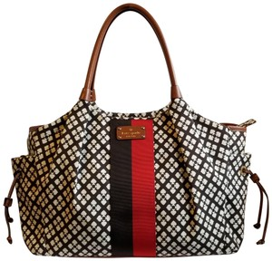 Kate Spade Red, Navy and white Multi color Diaper Bag