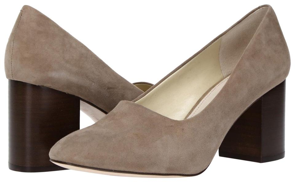 5cb9aeeb616 Louise et Cie Taupe Zeldia Block Heel 9.5m Pumps Size US 9.5 Regular ...