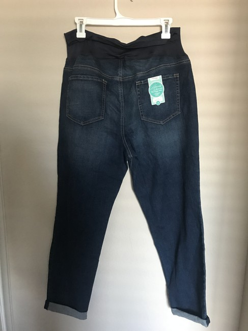Old Navy Old Navy The Boyfriend Full Panel Skinny Jeans Image 2