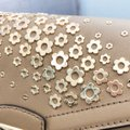 Michael Kors Mk Convertible Shoulder Floral Embossed Cross Body Bag Image 2