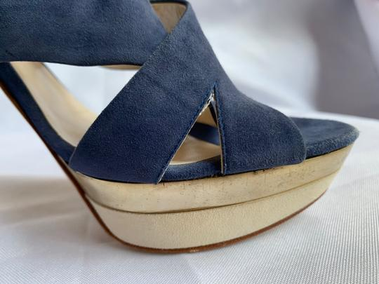 Italian Shoemakers Blue Sandals Image 3