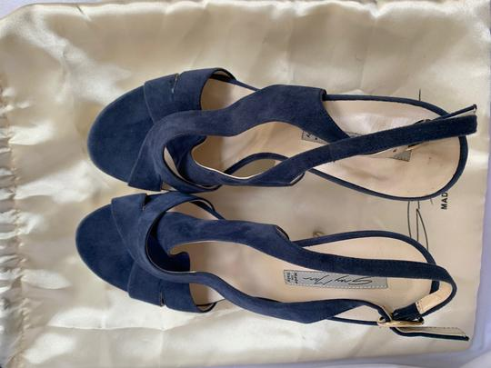 Italian Shoemakers Blue Sandals Image 4
