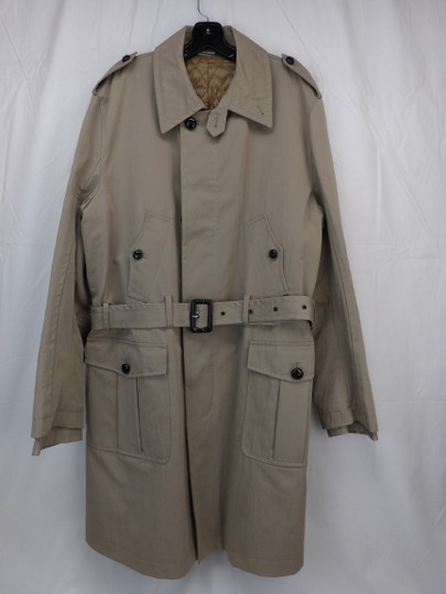 Preload https://img-static.tradesy.com/item/24924696/dolce-and-gabbana-beige-cotton-double-breasted-epaulets-trench-coat-56-italy-tuxedo-0-0-540-540.jpg