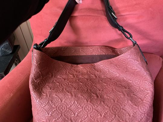 Louis Vuitton Embroidered Collector Exclusi Tote in Rose Putty Image 2