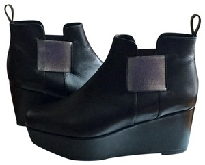 Robert Clergerie Black / silver Boots