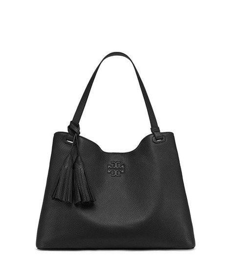 Preload https://img-static.tradesy.com/item/24924798/tory-burch-thea-center-zip-black-leather-tote-0-0-540-540.jpg