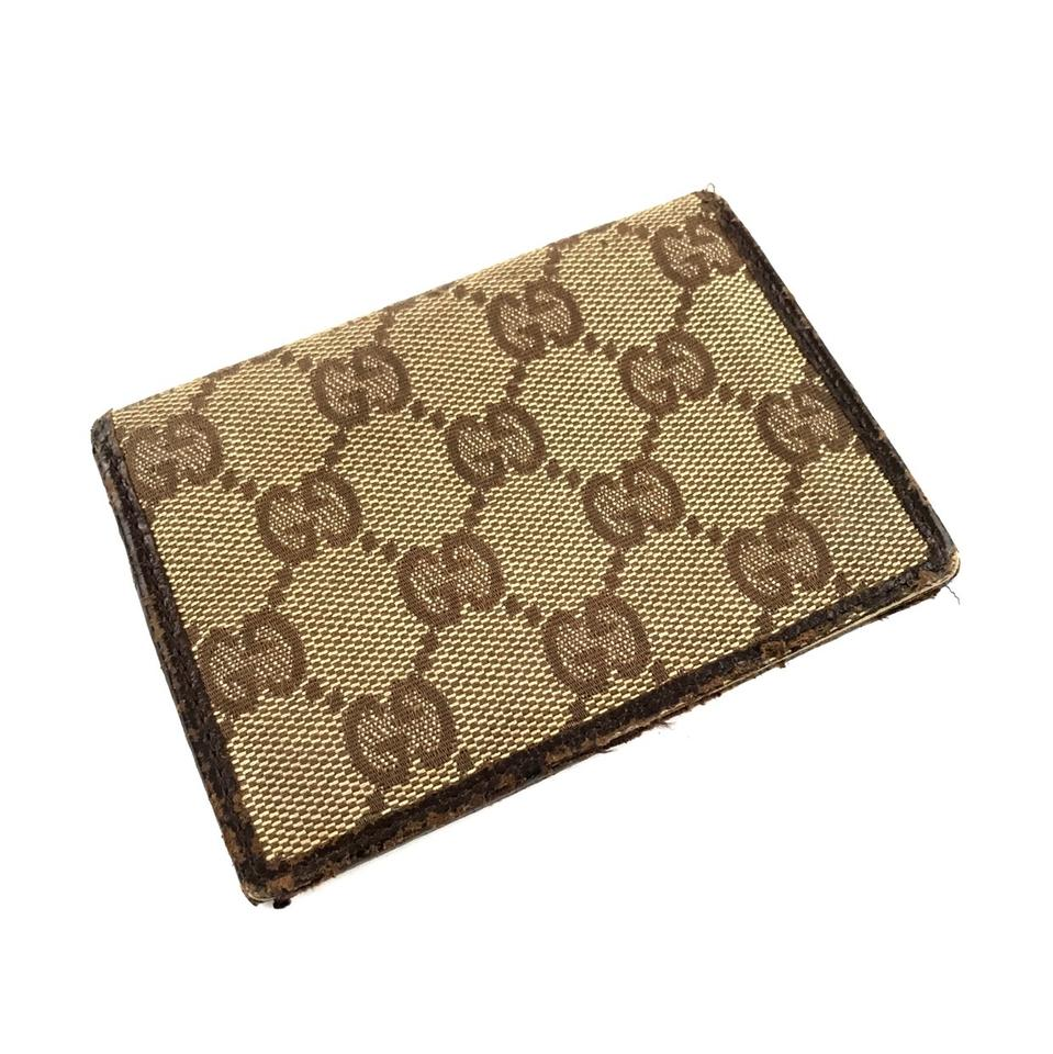 9303f226f207 Gucci Monogram Card Holder Image 8. 123456789