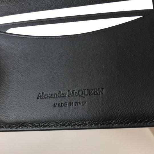 Alexander McQueen Black Skull Card Holder Wallet Image 4