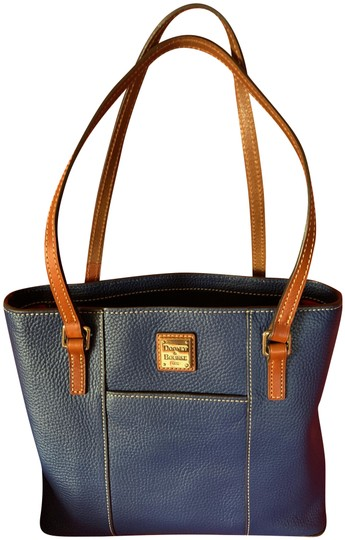 Preload https://img-static.tradesy.com/item/24925008/dooney-and-bourke-the-perfect-everyday-blue-leather-tote-0-1-540-540.jpg