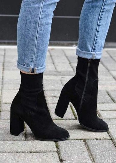 Chinese Laundry black suede Boots Image 4