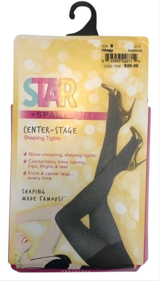 fd805c032d1dae Spanx Heather Gray Star Power Center-stage Shaping Hosiery - Tradesy