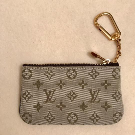 Louis Vuitton Mini Lin Monogram Cles Coin Purse Wallet Image 1