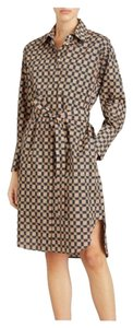 Burberry Burberry Check Button-Front Shirt Dress