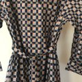Burberry Burberry Check Button-Front Shirt Dress Image 11