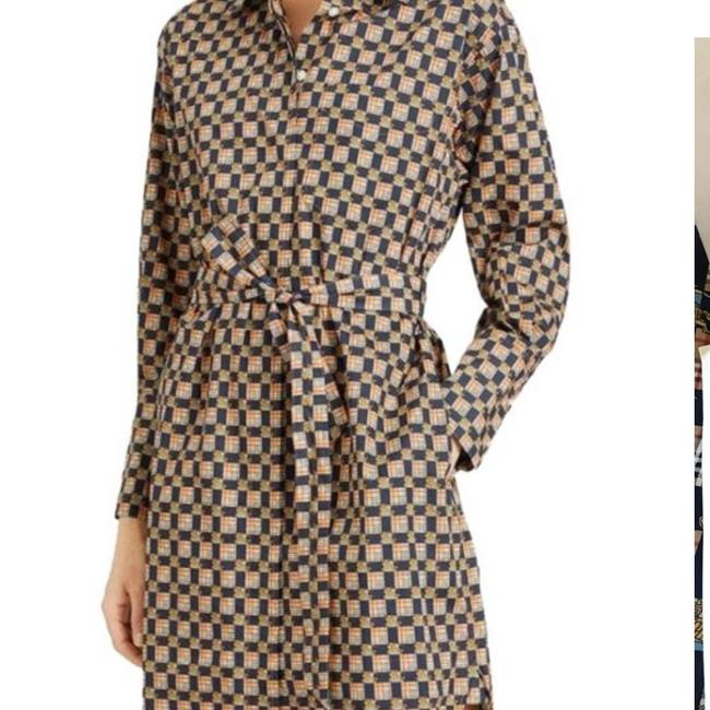 Burberry Burberry Check Button-Front Shirt Dress Image 2