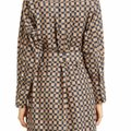 Burberry Burberry Check Button-Front Shirt Dress Image 4