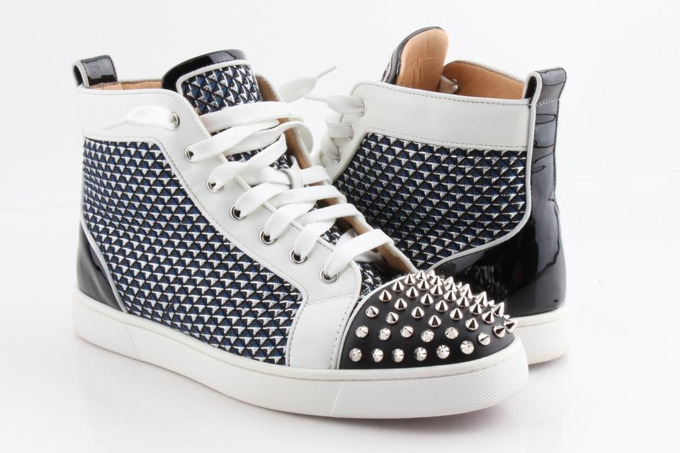 922144303bc2 Christian Louboutin Multicolor Lou Spikes Orlato High-top Sneakers Shoes  Image 0 ...