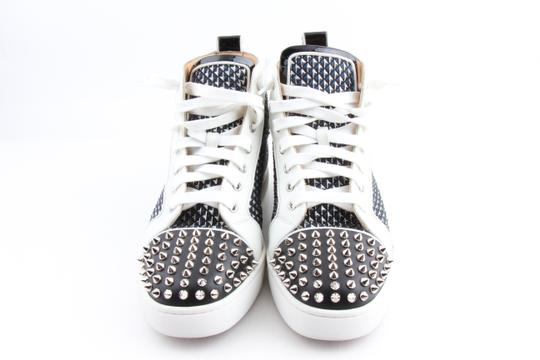 Christian Louboutin Multicolor Lou Spikes Orlato High-top Sneakers Shoes Image 2