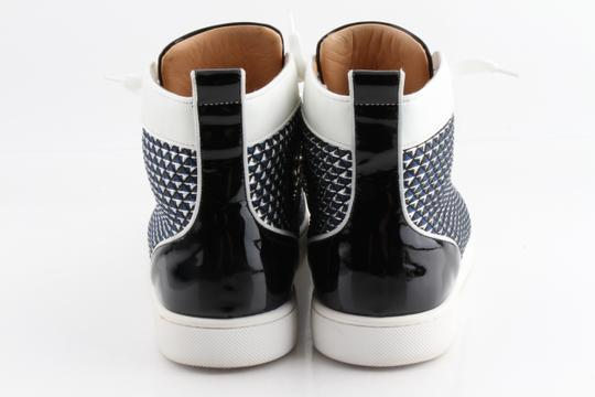 Christian Louboutin Multicolor Lou Spikes Orlato High-top Sneakers Shoes Image 3