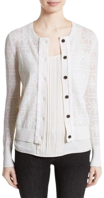 Preload https://img-static.tradesy.com/item/24925396/burberry-river-elvo-ivory-wool-cashmere-cardigan-cream-sweater-0-3-650-650.jpg