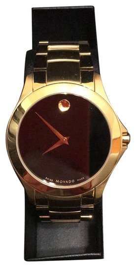 Preload https://img-static.tradesy.com/item/24925465/movado-goldblack-modern-classic-bracelet-39mm-watch-0-1-540-540.jpg