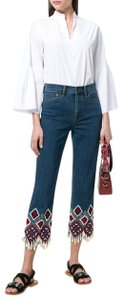 Tory Burch Relaxed Fit Jeans-Medium Wash