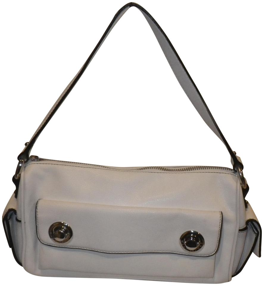 743d3f0e914 Marc Jacobs Vintage White Pebble Leather Shoulder Bag - Tradesy