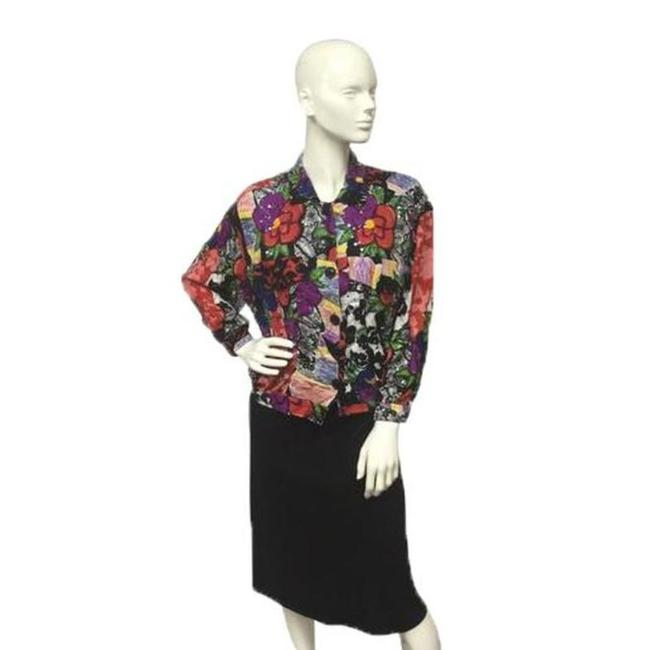 Other Button Down Shirt Multicolored Image 1