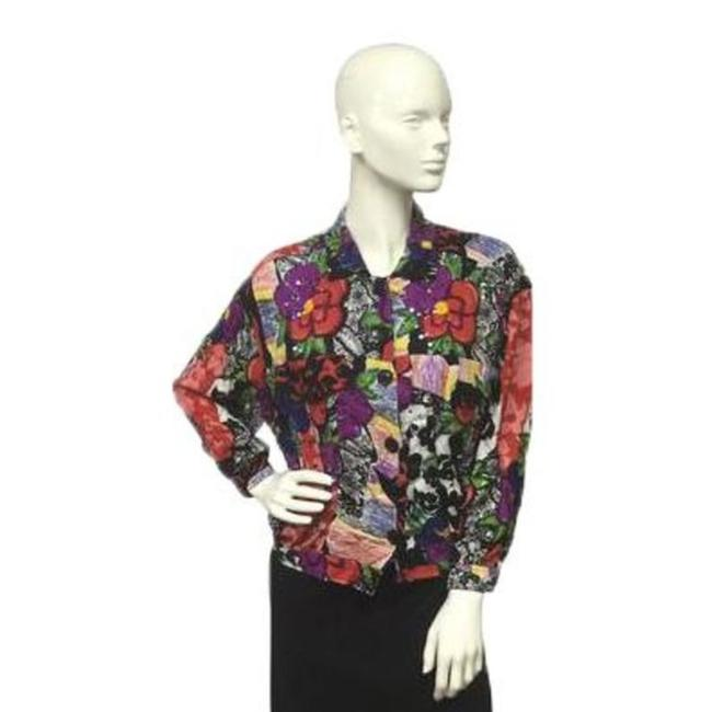 Other Button Down Shirt Multicolored Image 2
