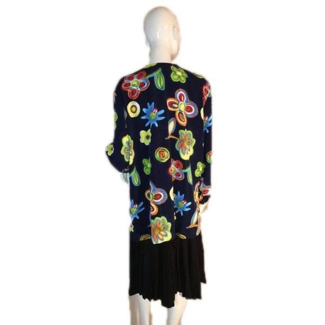 Briggs New York Button Down Shirt Blue, Yellow, Pink, Green Image 3